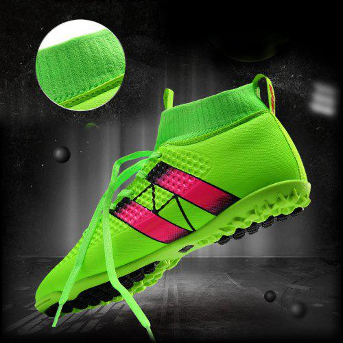 18ebbd1b8 2016 Fly indoor futsal soccer boots sneakers men Cheap soccer cleats  superfly original high hall football with ankle boots | Gearbest