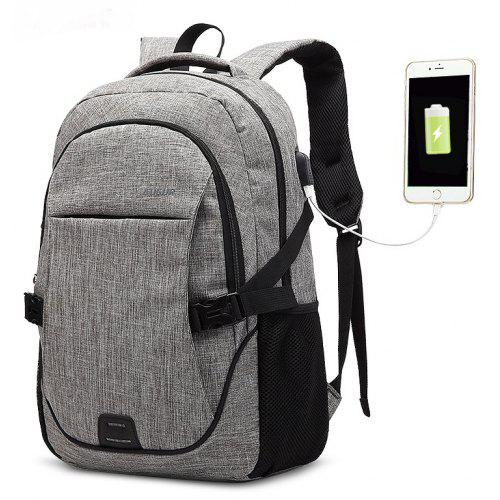 14685f49de AUGUR Backpacks USB Charging For Men Women Casual Travel Teenager Student  School Bag -  30.08 Free Shipping