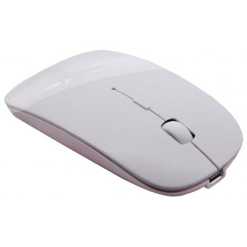 7e91244cde0 Slim Rechargeable Bluetooth Wireless Mouse Ultra-Slim Mice for Notebook PC Laptop  Computer Windows / Android Tablet Mac | Gearbest