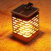 BRELONG LED Solar Dancing Flame Light - CZARNY