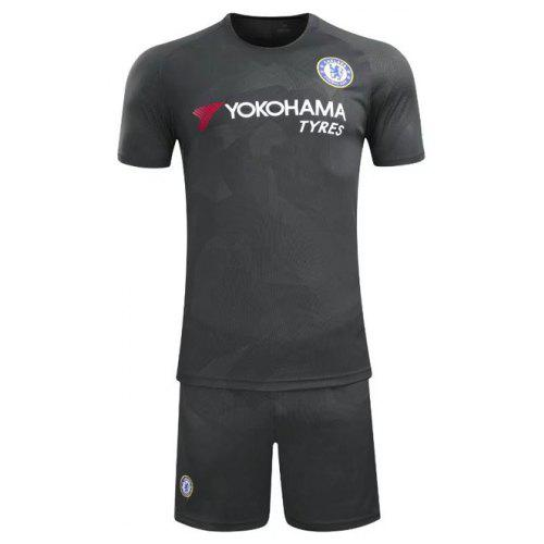 buy popular d0869 018c4 Premier League Chelsea Season New Short Sleeve Football Suit Home Two Away  Jersey Short Sleeved Suit