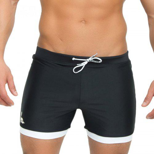 28352059d3 Taddlee Mens Swimwear Swimsuits Swim Boxer Trunks Long Solid Color Black  Board Surf Shorts Big Size Traditional Trunk | Gearbest