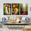 Abstract Canvas Prints Frameless HD Home Wallart Decal 3pcs - COLORFUL