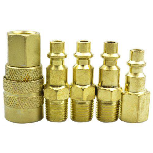 40 pcs Heavy Duty Quick Coupler  Air Hose Connector Fittings 1//4 NPT Tools Plug