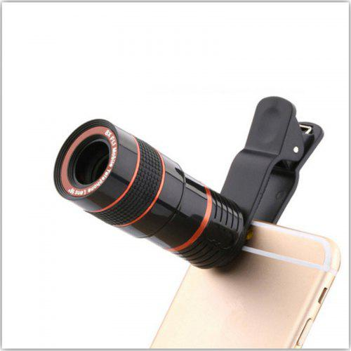 Universal 8X Optical Zoom Telescope Camera Lens Clip Mobile Phone Telescope - $8.71 Free Shipping|Gearbest.com