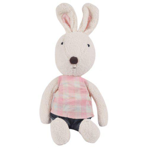 0236f94882cb 30 CM Grid Cloth Rabbit Plush Toy Doll -  7.84 Free Shipping ...