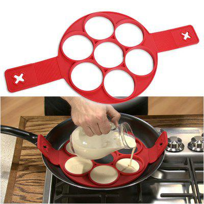 Perfect Nonstick Egg Ring Maker Easy Silicone Egg Pancake Mold Kitchen Tools