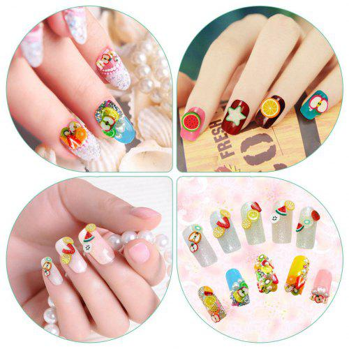 Nail Art 3 50pcs Pack Cute Manicure Fimo Polymer Clay Canes