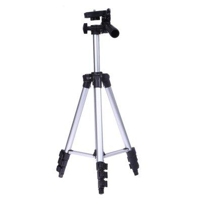 Refurbished Portable Professional Camera Tripod High Quality Universal Tripod for Camera  Mobile Phone  Tablet