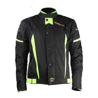 Riding Tribe JK-37 Reflect Racing Winter Casacos impermeáveis ​​para motocicleta