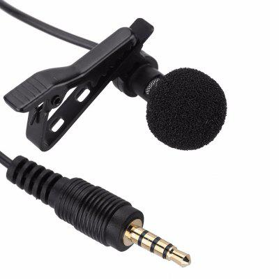 Clip-on Lavalier Microphone Condenser Microphone