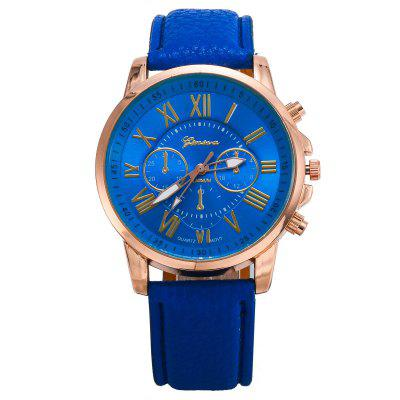 Geneva Fashion Ladies Dress Quartz  Wrist Watch