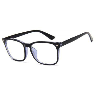 Vintage Plastic Designer Eyeglasses Frames for Men Women Anti Blue ...