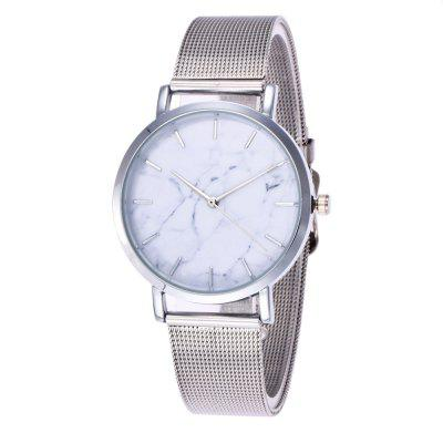 REEBONZ Luxury Brand Fashion Quartz Ladies Casual reloj de pulsera de acero inoxidable