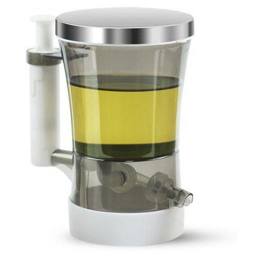 Oil And Vinegar Dispenser Smart Ration No Leak Stainless Steel