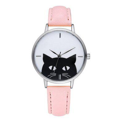 GAIETY G066 ladies leather leather watch
