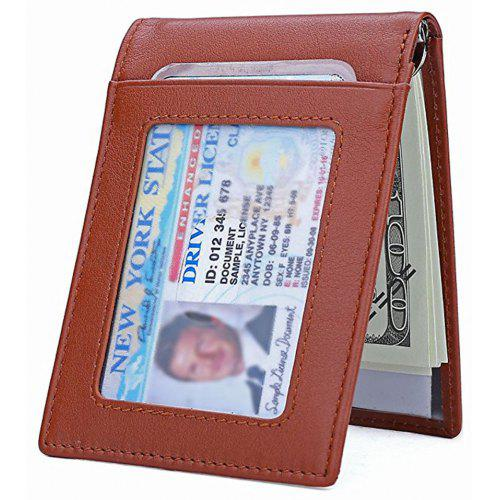 9350710c52ed Leather Slim RFID Front Pocket Wallet Minimalist Secure Thin Credit Card  Holder