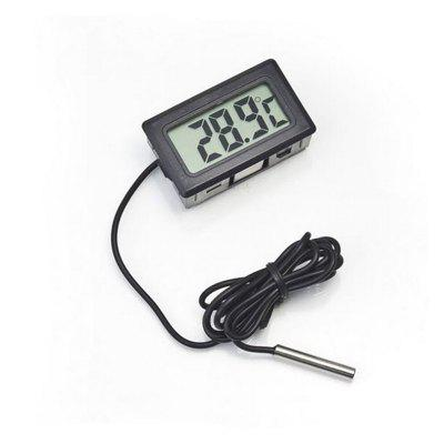 Digital Thermometer LCD Instant Read Waterproof Detector Probe