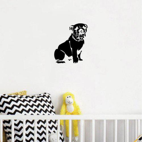 Wall Stickers French Bull Dog Animal Living Window Decal 3D Art Vinyl Room C808