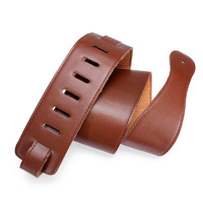 Sturdy Breathable Leather Guitar Strap