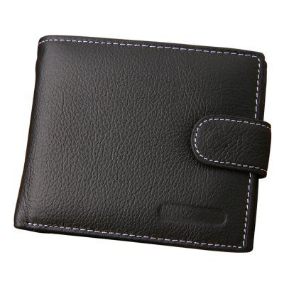 Men Wallets Male Genuine Leather Wallet Coin Pocket Card Holder