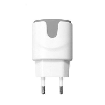 SDL New Dual USB Private Charger Set  EU Wall Charger Mobile Phone Charger