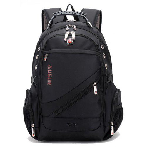 a4594086dcff AUGUR Men Backpack Large Capacity Oxford Cloth Travel Outdoor Computer  School Bag