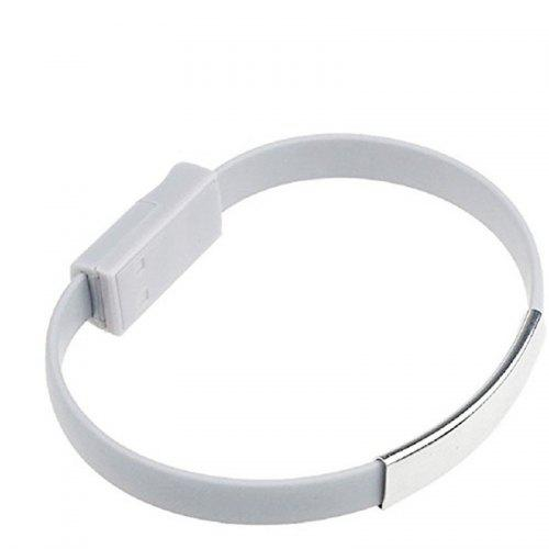 Colorful Mini Micro USB Bracelet Charger Cord for Type-C Devices