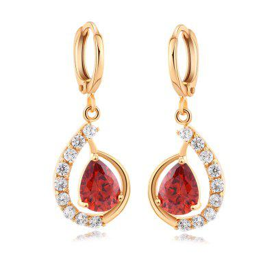 Fashion Micro - inlaid Zircon Earrings ER0285