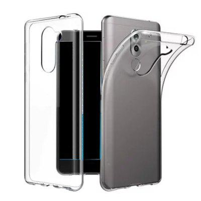 High Quality Ultrathin Shock-Absorption Bumper TPU Clear Case for HUAWEI Honor 6X