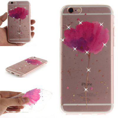 Song For Orchid Soft Clear IMD TPU Phone Casing Mobile Smartphone Cover Shell Case for iPhone 6/6S for iphone 7 smile painted soft clear tpu phone casing mobile smartphone cover shell case