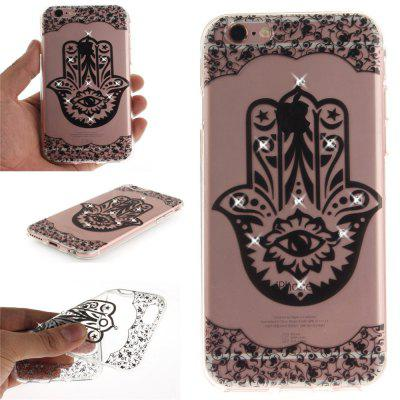 Palm Soft Clear IMD TPU Phone Casing Mobile Smartphone Cover Shell Case for iPhone 6/6S for iphone 7 smile painted soft clear tpu phone casing mobile smartphone cover shell case