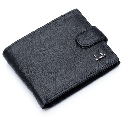 4b6363e1aa35 Qianxilu Brand Genuine Leather Men Wallets With Coin Pocket Brown Wallet  Purse Male Price