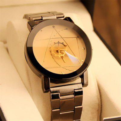 REEBONZ New Fashionable Gear Design Quartz Watch