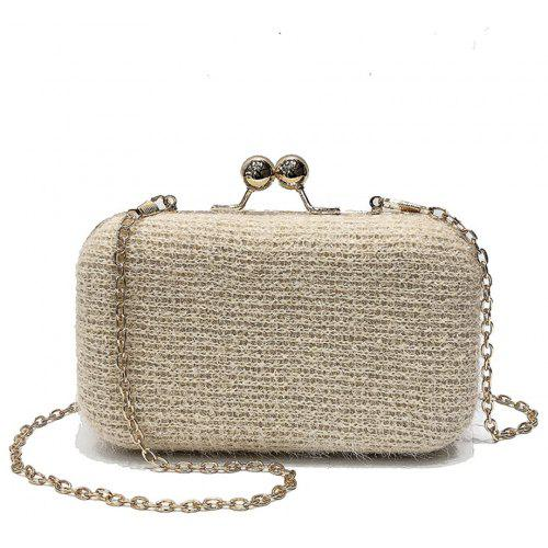5474e1c737 Clip Mini Shell Bag Female Messenger Small Incense Evening Bag Chain  Shoulder Bag