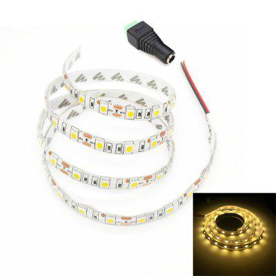ZDM 1M /2M Waterproof DC 12V 15W 60 x 5050 SMD Light LED Strip with 1PC DC Female Connector