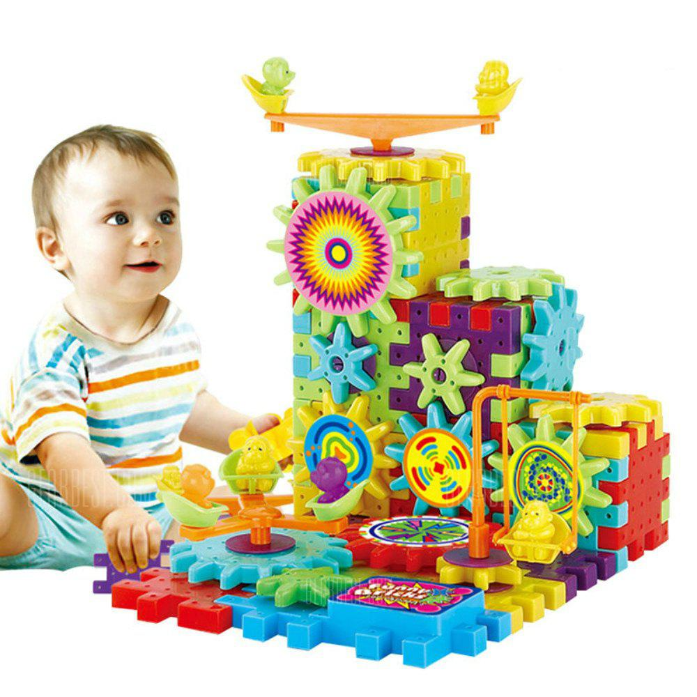 Kids Changable Educational Dynamoelectric Building Block - MIXCOLOR