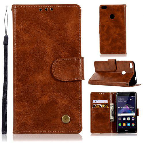 new arrival 396bc c9c67 Flip Leather Case PU Wallet Case For Huawei P8 Lite 2017 / Honor 8 Lite  Smart Cover Vintage Fashion Phone Bag with Stand