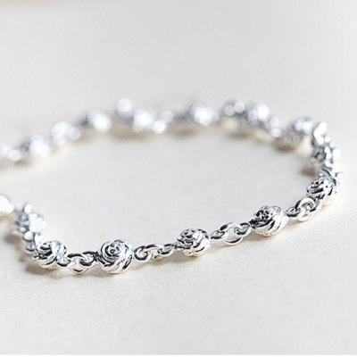 Pulseira de prata esterlina 925 Silver Chain Lady Women Jewelry