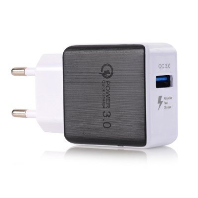 Quick Charge 3A USB-wandcontactdoos EU Plug QC3.0 Mini-reisoplader