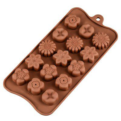 Christmas Series Silicone Baking Chocolate Molds Cold Handmade Soap Mold