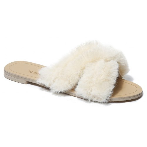 0016722c9aa4 Fashionable and Comfortable Hare Hairy Slippers -  26.07 Free ...
