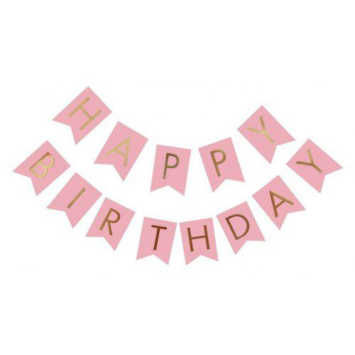 happy birthday paper flags letter paper banners garland for birthday party supplies and hanging decoration