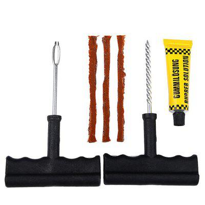 QMP - 167 Car Tubeless Tire Repair Kit 6pcs