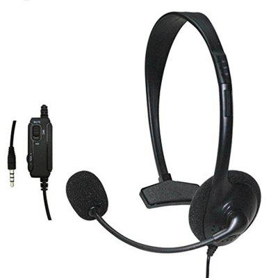 Gaming Headset Headphone with Microphone and Volume Controller for PS4