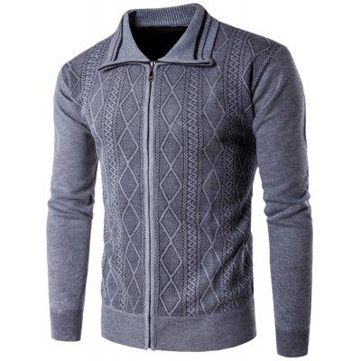 Spring and Autumn New Men'S Sweater Long-Sleeved Casual Cardigan Sweater Men'S 1204-MK06