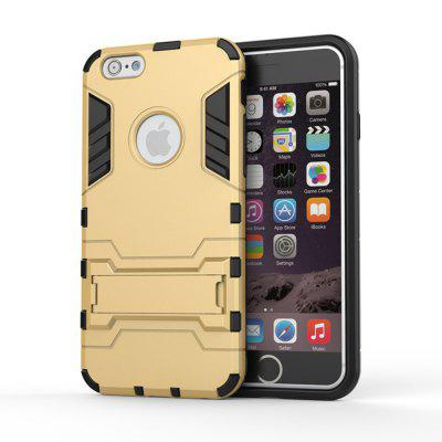 Phone Case for iPhone 6s Iron Man Bear TPU+ PC two-in-one Support Case 3d doll brown bear wrapped edges tpu phone case for iphone 6s 6 yellow