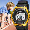LED Digital Children Watch Kids Watches Girl Boy Clock Electronic Sport Wristwatch - GOLDEN