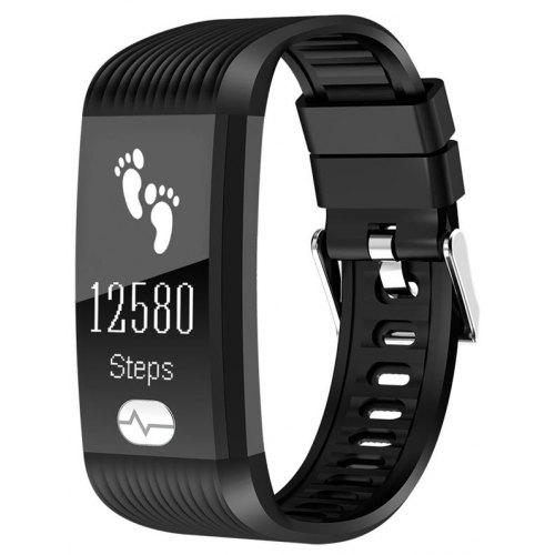 Fitness Tracker, ECG PPG Heart Rate Monitor with More Accurate HR Smart  Wristband Blood Pressure Bracelet Pedometer Act