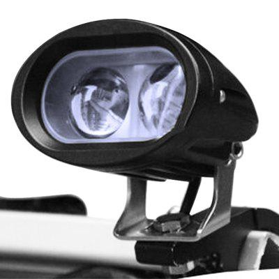 2pcs Universal 4 Led Motorcycle Spot Light Dc12-80v1000lm 6500k Headlight Lamp For Bicycle Motorcycle Cars Trucks Boat Mobility Automobiles & Motorcycles Car Lights